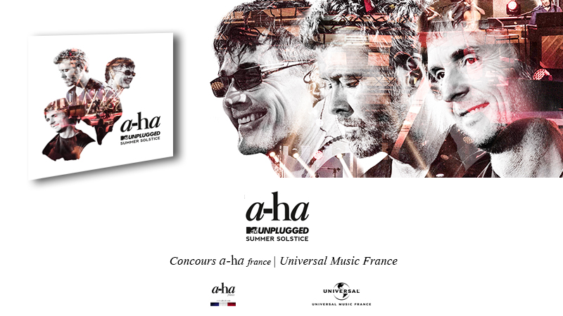 [Concours] a-ha 'MTV Unplugged - Summer Solstice'