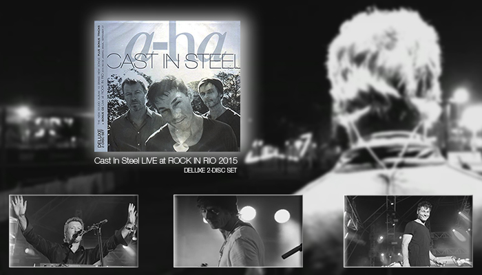 a-ha - Cast In Steel LIVE at ROCK IN RIO 2015 2CD set in digipak
