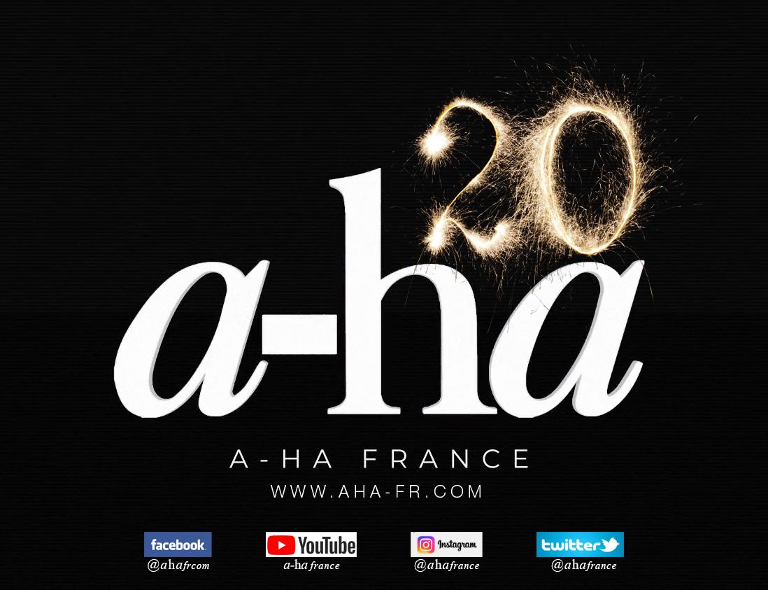 a-ha France fête ses 20 ans !
