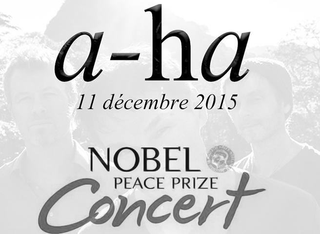 a-ha au Concert du Prix Nobel de la Paix 2015