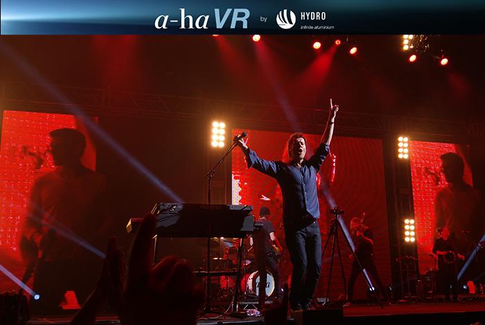 a-ha en VR 360 (Réalité Virtuelle en 360°)