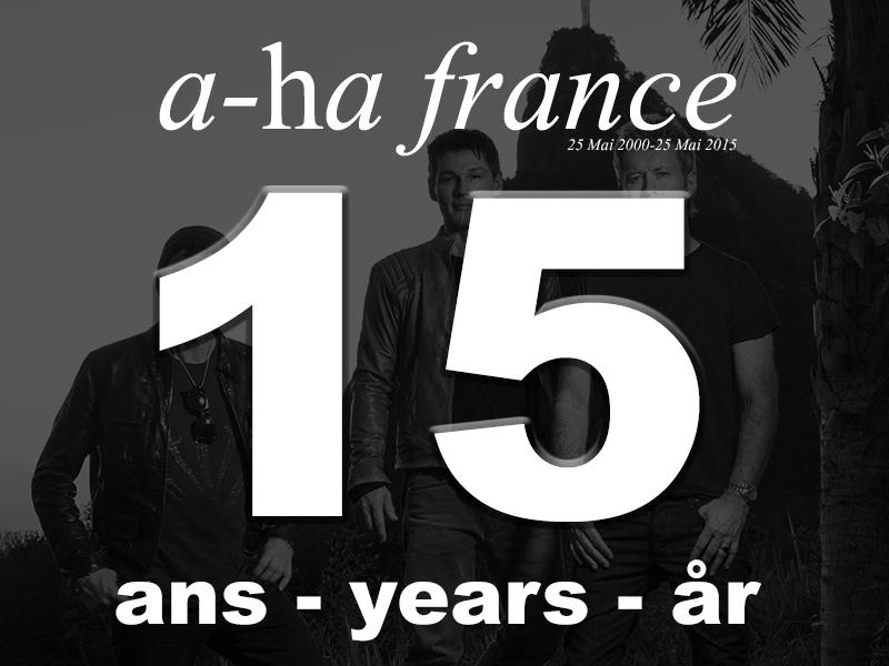 Bon anniversaire aha-fr.com : 15 ans !