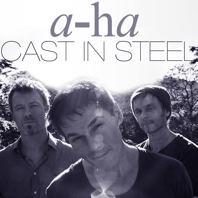 a-ha Casr in Steel 2015
