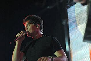 concert Difficile pour Morten à Recife (Brésil)